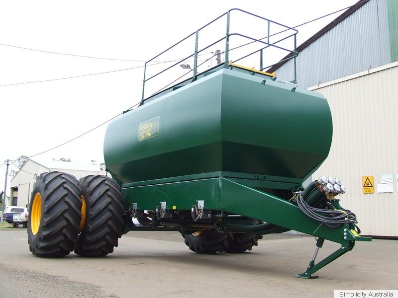 Air Seeders And Tillage Simplicity Australia